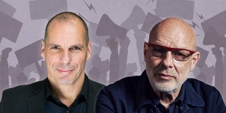Yanis Varoufakis and Brian Eno on Money, Power and a Call for Radical Change tickets