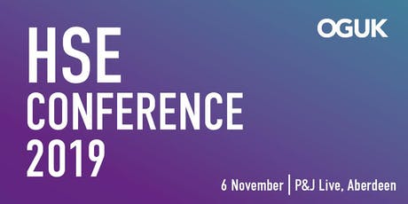 OGUK HSE Conference (6 November 2019) tickets