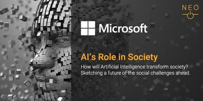 NEO Keynote: Microsoft - AI's Role in Society