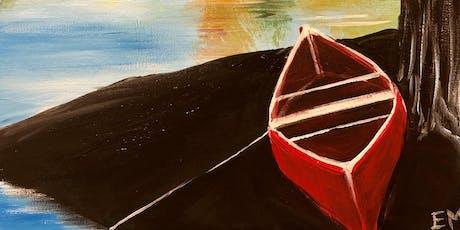 Fall canoe ride Paint Night Banff tickets