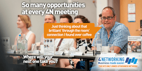 4N Networking Lunch Glasgow City Centre 23rd August 2019 tickets