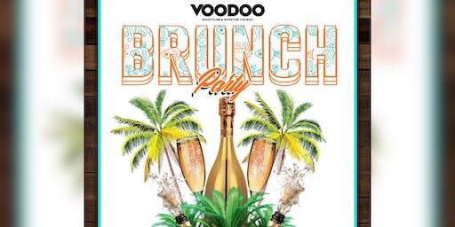 Sunday Brunch Party: Rooftop Party - Voodoo Ocean Drive