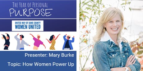 Women United Q3: How Women Power Up with Mary Burke tickets