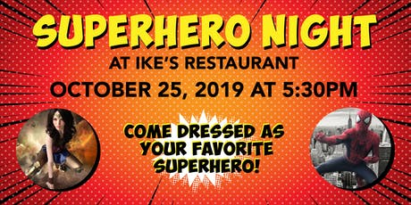 Superhero Night (for Boys and Girls)  tickets