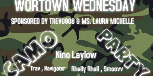Wortown Wednesdays Camo Party