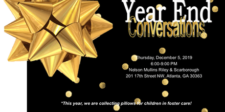 2019 Year End Conversations Reception tickets