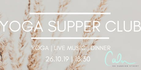 YOGA SUPPER CLUB tickets