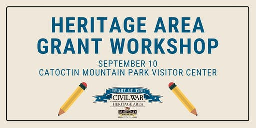 Heritage Area Grant Workshop at Catoctin Mountain Park
