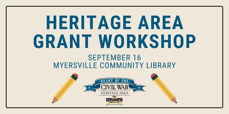 Heritage Area Grant Workshop at Myersville Community Library tickets
