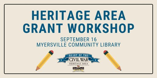 Heritage Area Grant Workshop at Myersville Community Library