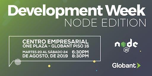 Development Week Edición Medellín: Node JS