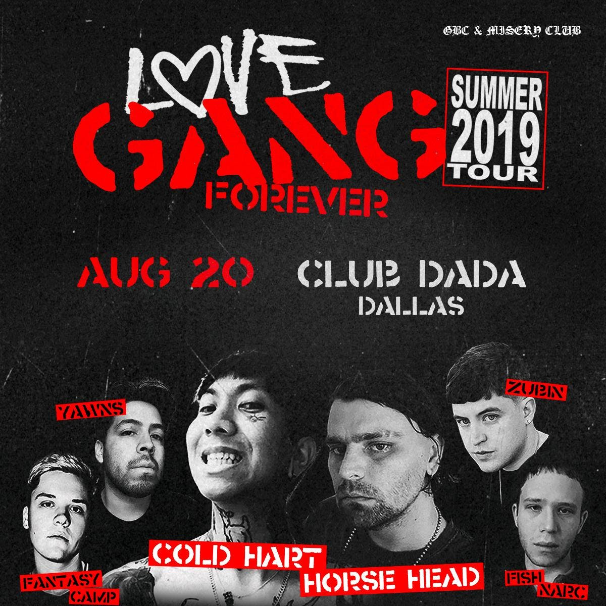 Gothboiclique Presents: Cold Hart, Horse Head, and more