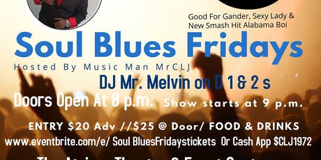 Soul Blues Fridays tickets