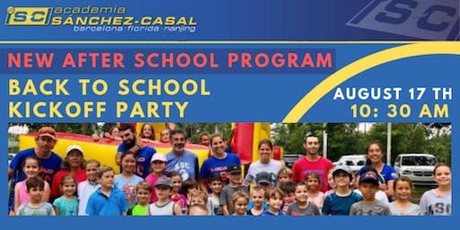 Sánchez-Casal Back to School Kickoff Party