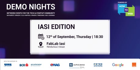 Demo Nights, Iasi edition tickets