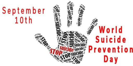 Sept 10th is World Suicide Prevention Day... attend safeTALK!