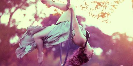 Aerial Hoop, Silks, Splits and contortion workshops! tickets