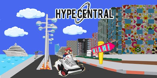 HypeCentral Buy-Sell-Trade & Go-Karting: Sneaker/Clothing/Art/Networking Festival