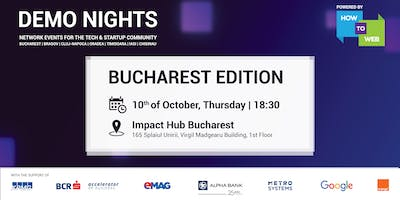Demo Nights, Bucharest edition