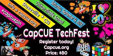 CapCUE Techfest 2019 tickets
