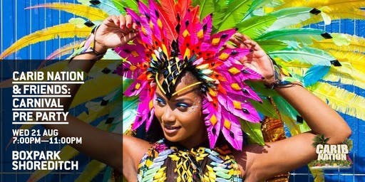 Carib Nation & Friends: Carnival Pre Party!