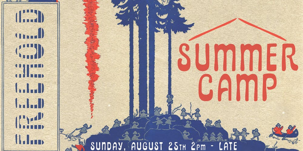 FREEHOLD x The Bushwick Grand Presents Summer Camp Tickets, Sun, Aug