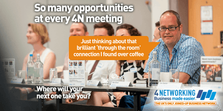 4N Networking Lunch Glasgow City Centre 18th October 2019 tickets