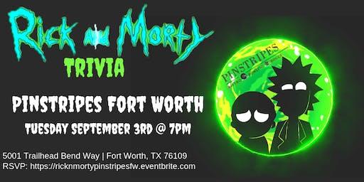 Rick & Morty Trivia at Pinstripes Fort Worth
