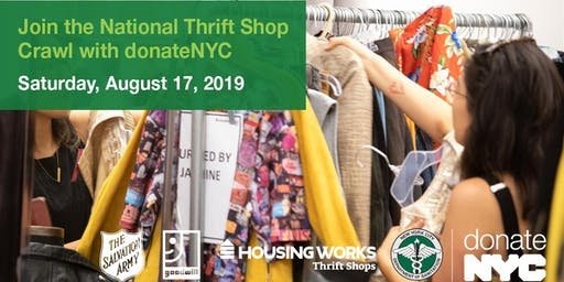 2019 donateNYC Thrift Shop Crawl