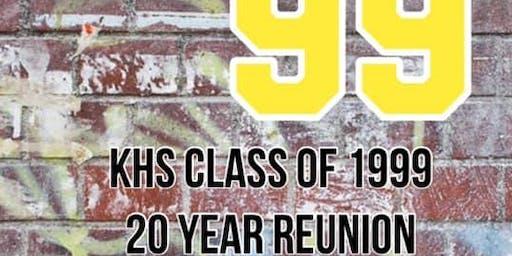 KHS CLASS OF 1999 20th REUNION