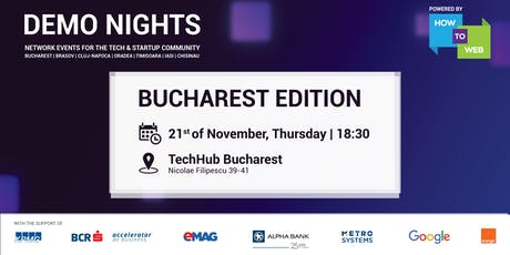 Demo Nights, Bucharest edition tickets