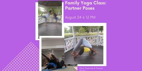 Family Yoga: Partner Poses tickets