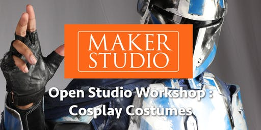 Open Studio Time for Con Crunch Cosplay