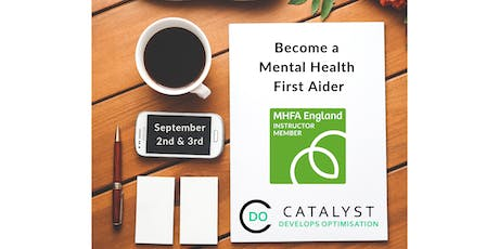 Two Day Mental Health First Aid (MHFA) England Training tickets