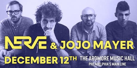 Jojo Mayer / Nerve tickets