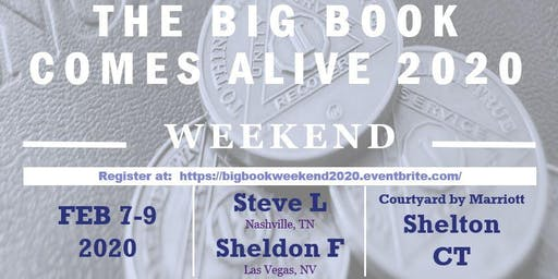 Big Book Comes Alive Weekend 2020