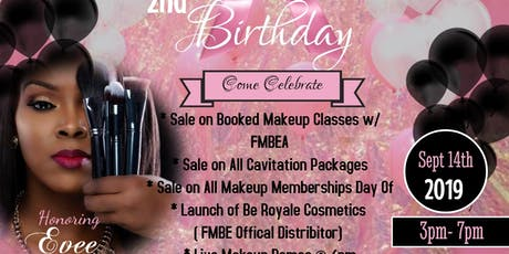 Flawless Makeup by Evee 2nd yr Anniversary Party  tickets