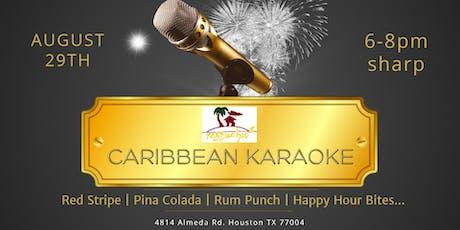 Caribbean Karaoke at Reggae Hut! tickets