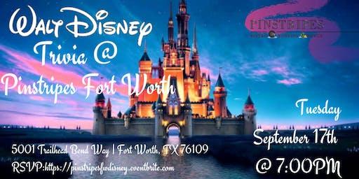Disney Movie Trivia at Pinstripes Forth Worth
