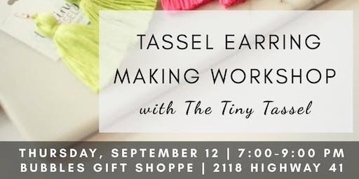 Tassel Earring Workshop with The Tiny Tassel