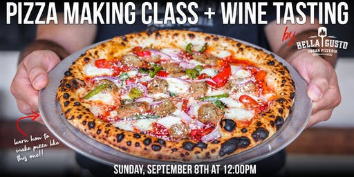 Pizza Making Class + Wine Tasting