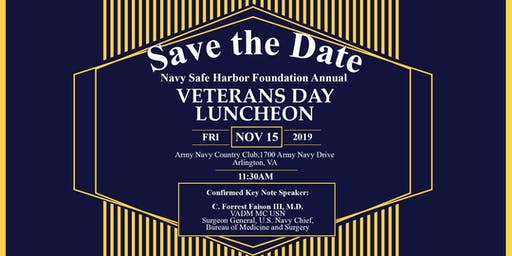 NSHF Annual Veterans Day Luncheon 2019
