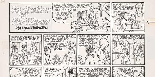 """""""For Better or Worse"""" Cartoonist Lynn Johnston [Lecture]"""