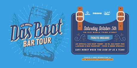 4th Annual Das Boot Bar Crawl tickets