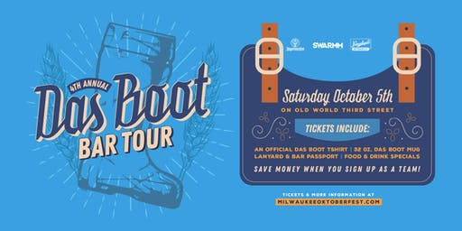 4th Annual Das Boot Bar Crawl