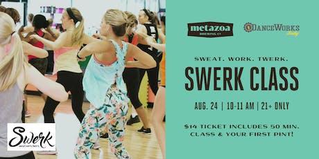 SWERK Fitness Class tickets
