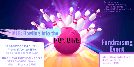MLE: Bowling into the Future tickets