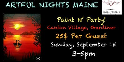 Paint N' Party at Canton Village Restaurant