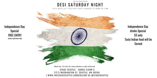 Bollywood Saturday night & Indian's get together p