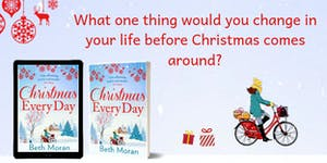 Book launch for CHRISTMAS EVERY DAY sponsored by SILVER...